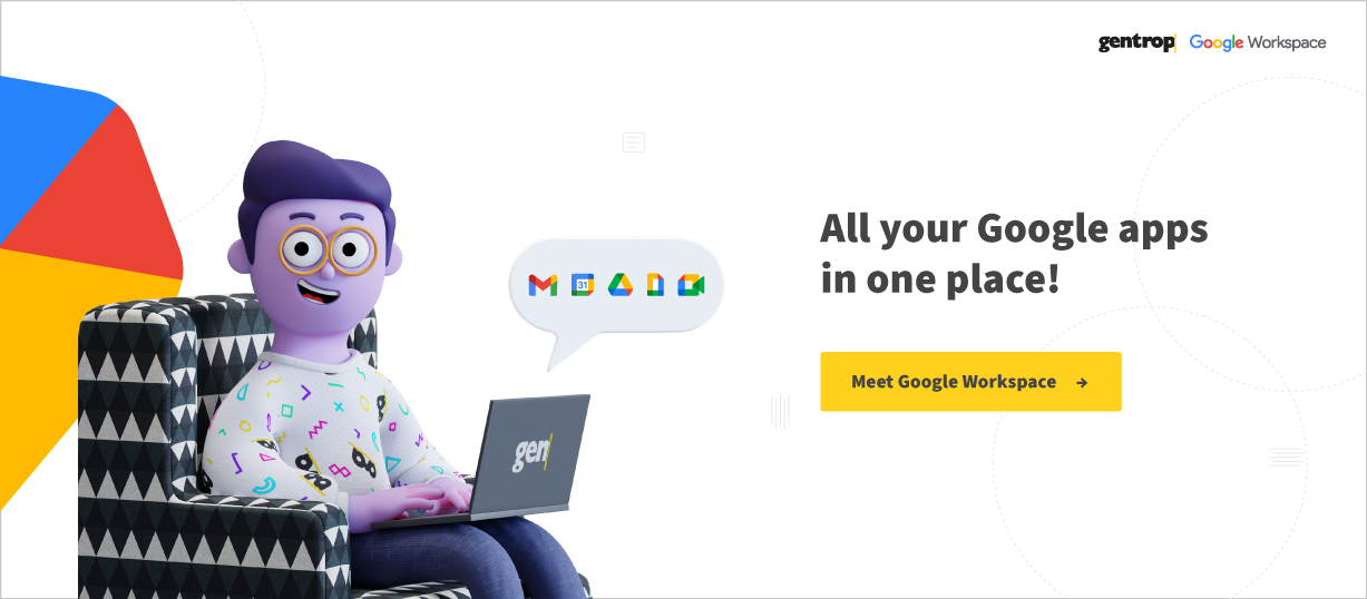 All your Google apps in one place! Meet Google Workspace.ogGoogleWorkspace_Inglês